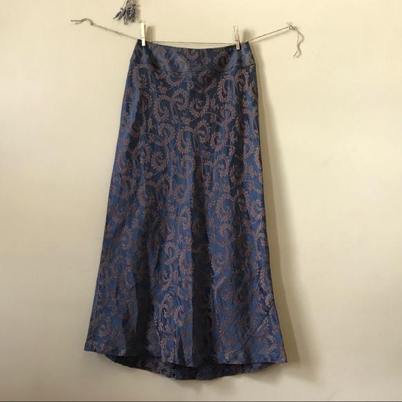 J. Jill Dresses & Skirts - J. Jill Stunning Silk and Linen Maxi Skirt (6)